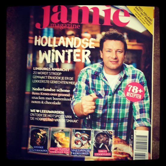 Foodstyling, jamie magazine, appelstroop