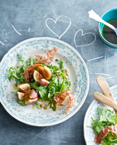 figs, valentine food, romantic, food styling