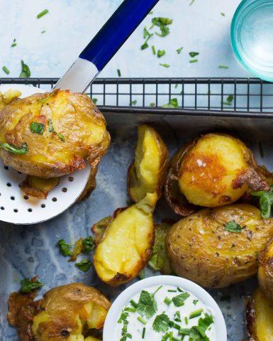 Food styling, potatoes, Boodschappen