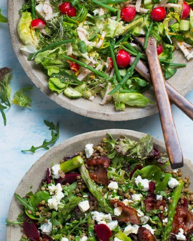foodFood styling, salads, Boodschappen