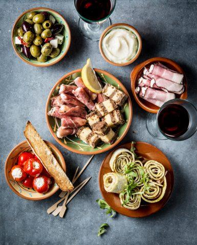 food styling, tapas, Jumbo Foodmarket