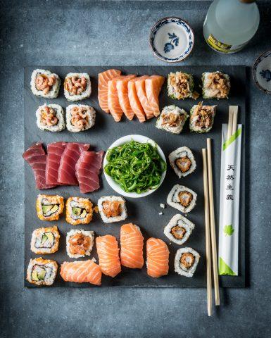 food styling, Jumbo Foodmarket,sushi