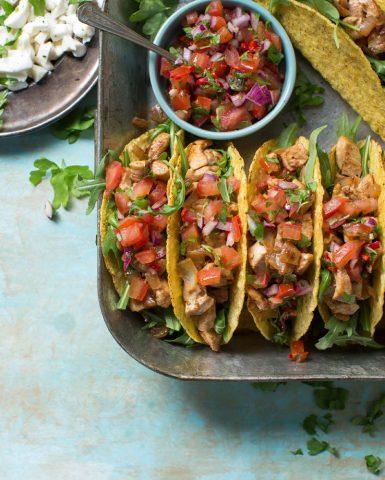 Food styling, tacos, Boodschappen